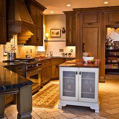 Rausch House - traditional - Kitchen - St Louis - Karr Bick Kitchen and Bath