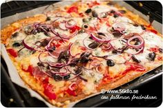 THE best pizza (according to blogger) ... recipe in Swedish --- give me a shout if you need translation :0)