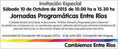 Cambiemos Concepción del Uruguay: Jornadas Programáticas Provinciales de Cambiemos