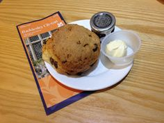 3 out of 5 for the replacement scone at Baddesley Clinton - the original was stale!