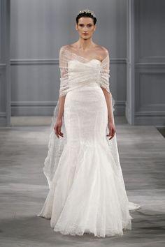 Descubra a nova coleção 2014 de Monique Lhuillier com modelos ideais para as noivas românticas, modernas e arrojadas, nenhuma mulher vai ficar de fora dessa