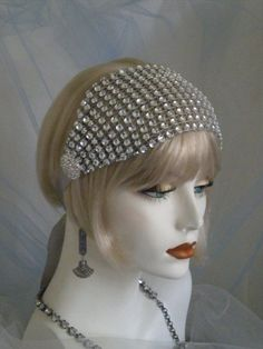 Indian Black Straight Fancy Dress Wig /& Wide Embroidered Head Band