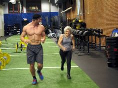 "74-year old Cross Fitter (and ""motivation"" on the side)"