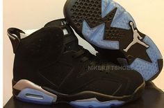 low priced bfc32 c3bf1 Air Jordan 6 Black and Gold icy blue bottom Girls Size 5.5 to Mens Size 13