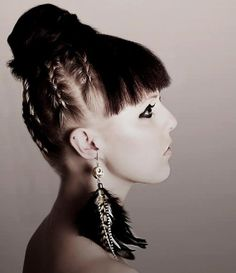Love the hair!! The braids are great.