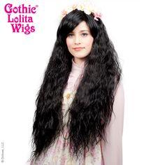 Gothic Lolita Wigs® <br> Rhapsody™ Collection - Black -00098