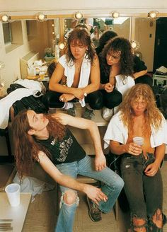 Metallica-with the original Mr Cliff Burton
