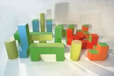 PLAY+ SOFT- 3D Forms  PLAY+ furnitures for children - play structures. Reggio furniture/play objects transforming spaces.