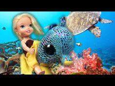 Anna and Elsa toddlers Magic Carousel Underwater Adventure Descendants M...