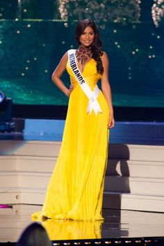 Miss Netherlands 2014 Evening Gown: HIT or MISS?  http://thepageantplanet.com/miss-netherlands-2014-evening-gown/