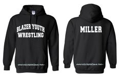 WRESTLING Wrestlers Sports Coach Team Mom Spiritwear Unisex Hoodie Sweatshirt Adult S M L Xl Many Colors Can Be Custom Personalized Pullover