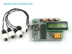 Water Level #Controller using 8051