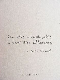 Etre irremplaçable - Fushion News Words Quotes, Life Quotes, Sayings, Inspirational Quotes About Change, Burn Out, French Quotes, English Words, Some Words, Sentences
