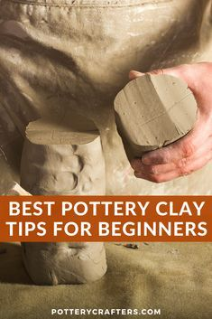 When starting to make pottery, I was amazed and confused by all the different clays there were to choose from. What should you look for when choosing your clay? Figuring out what clay you like will come down to a lot of hands-on practice. We hope this article will help you in finding the best clay for your ceramics projects. #clay #claycrafts #pottery #potteryclay #potteryforbeginners #potterytips #ceramics #bestpotteryclay...