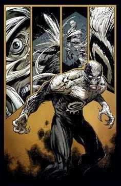 Cool Comic Book Pages: McFarlane/Kirkman, Greg Capullo - Haunt