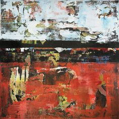 Jacksonville by Shawn McNulty 36x36 ©2013 Orange Abstract Art