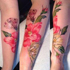 I might copy Keiko Lynn's tattoo....