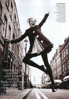 Edie Sedgwick in 1966 Vogue