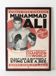 posters Muhammad Ali #posters #deportes #boxeo