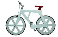 Incrível bicicleta de papelão: custo de apenas 20 reais