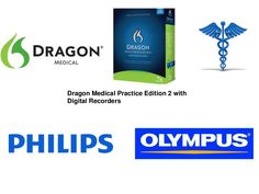 Dragon Medical 12 Digital Recorders / Dragon Medical Practice Edition 2 Digital Recorders KnowBrainer.com via Slideshare
