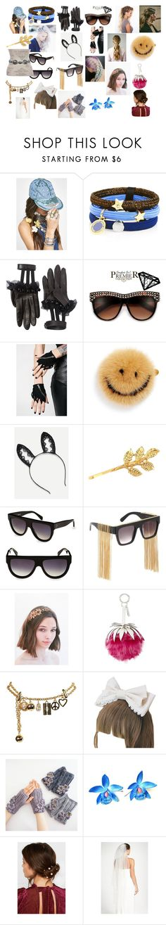 """accessories #13"" by lukehemmings150 ❤ liked on Polyvore featuring Replay, Marc Jacobs, Gucci, Punk Rave, Anya Hindmarch, CÉLINE, STELLA McCARTNEY, Fendi, Moschino and Jennifer Behr"