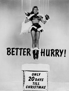 Better Hurry, a reminder starring Vera Ellen and chimney.