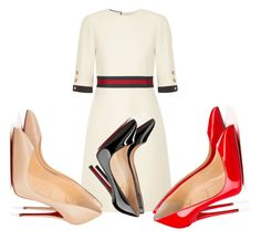 Beauty #734 by vcardosousa on Polyvore featuring polyvore, fashion, style, Gucci, Christian Louboutin and clothing