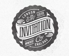 The Invitation Company  / pinned on Toby Designs