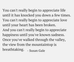 Appreciation...