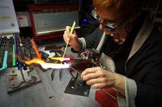 A daring Murano Glass Jewellery artisan in Modena Italy - breaking all the rules! (La Gioja di Susanna Martini , Italy)