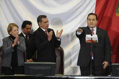 Javier Duarte de Ochoa toma protesta como Gobernador de Veracruz en la ciudad de Xalapa