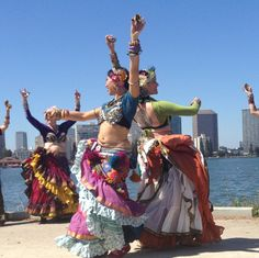 The beating heart of American Tribal Style® bellydance is dancing improvisationally with a group. The entire structure of our art form — movements, formations, even posture —is set up to facilita...