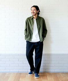 ♥ vintage men clothing fashion guys new ideas 1 Normcore Fashion, Mens Fashion, Japanese Men, Japanese Fashion Men, Japanese Minimalist Fashion, Casual Outfits, Men Casual, Fashion Outfits, Estilo Hipster