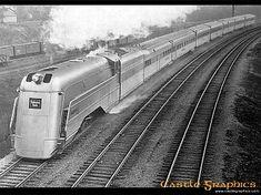 Burlington Route Aeolus, a steam back-up to the diesel Zephyrs.