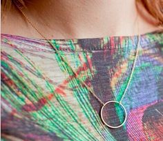 Running Circles Around You Necklace
