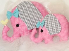 Elefante Patchwork Quilting, Patchwork Baby, Diy And Crafts, Arts And Crafts, Animal Sewing Patterns, Fabric Toys, Elephant Art, Tutus For Girls, Toy Craft