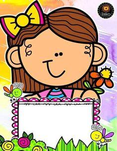 Preschool Education, Kindergarten Activities, Preschool Activities, Back To School Pictures, Classroom Clipart, School Labels, Borders And Frames, Binder Covers, Classroom Displays