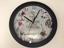 Nightmare Before Christmas Wall Clock Diameter Nightmare Before Christmas Clock, Cool Clocks, Wall, Cool Watches, Walls