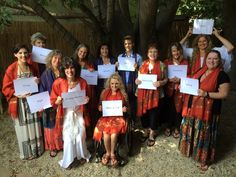 Here we all were in Los Angeles on the Summer Solstice Tree of Life/10 Points of Light gathering. Each one of us represented a different point of light for the women of the world. It was such a special, special day and we felt so connected to the women in Arizona and Florida. In fact, we connected via Skype! Such love that day wearing our Illumination Spirited Woman Prayer Scarves.