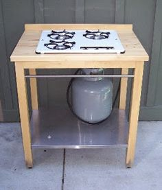 IKEA Hackers: Outdoor Stove, what? some people are so stinking clever. Way to go!