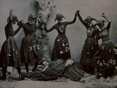 witches.....proof that the 20th century did not invent weirdos!