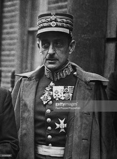 General Alexander Papagos - the Greek Commander-in-Chief during the Greco-Italian War, circa (Photo by Paul Popper/Popperfoto/Getty Images) - pin by Paolo Marzioli Uniform Insignia, Greece Pictures, Old Greek, Greek History, Greek Culture, In Ancient Times, Albania, Military History, Vintage Pictures