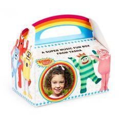 Yo Gabba Gabba! Personalized Empty Favor Boxes, 66635