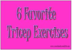 Tricep Exercises