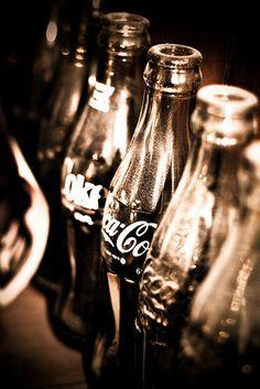 vintage coke bottles - cokes were better in those bottles.