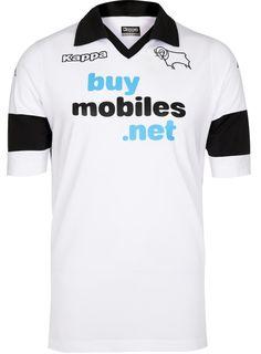 Derby County Kit 2013-2014 Kappa Home Shirt