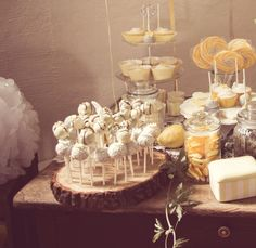 Hochzeit Cake Pop Halter Kuchenplatte Holz Vintage Candybar Candy Bar 29cm
