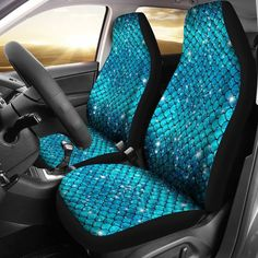 Sparkly Mermaid Scale Car Seat Covers (Set Of Sparkly Mermaid Scale Autositzbezüge My Soul & Spirit Mermaid Crafts, Mermaid Art, Mermaid Paintings, Tattoo Mermaid, Vintage Mermaid, Mermaid Tails, Mermaid Scales, Car Seat Cover Sets, Seat Covers