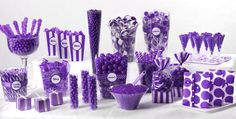 Purple Candy Buffet - Party City
